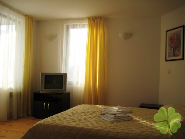 Studio apartment with one double bed